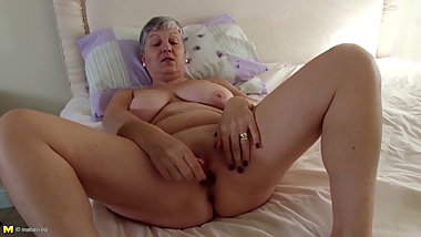 Euro grandmother needs your hard cock