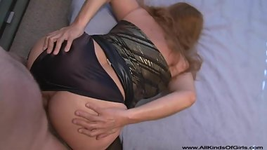 Bubble Butt Mexican Granny Gets Butt Fucked