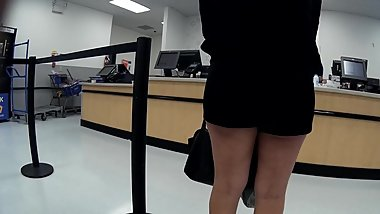 Latina granny high heels short shorts(Playtime)