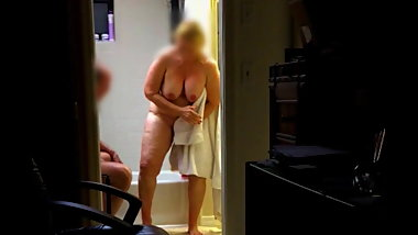 LOVELY WIFE OUT OF SHOWER