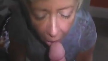 Cuckold birthday and his wife