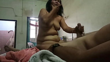 GILF issan bj cum in face 08-02