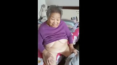 75yr old_asian granny gets fucked and cummed in uncensored