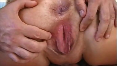 Gangbang Granny- Creampie in EVERY HOLE