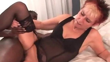 My Sexy Piercings Pierced grannt in stockings interracial fu