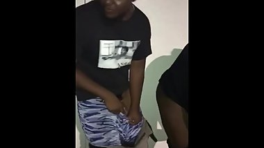 Jamaican boy banging Stinky pussy woman