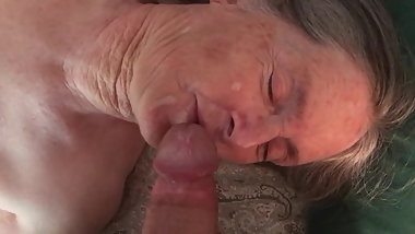 Grandma wants it on her face