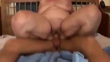 My grandma really enjoyed after along time with my penis she suck my cock a