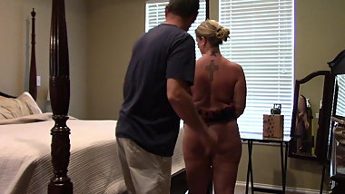 Slave girl May Punished rear view